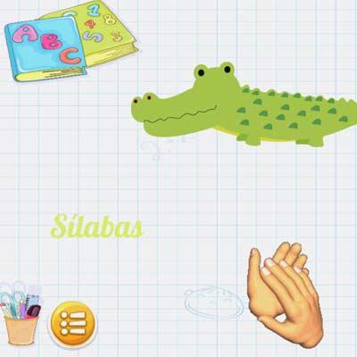 Aplicación Aprender a leer con sílabas