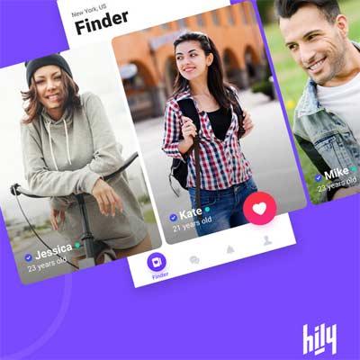 Aplicación para ligar Hily