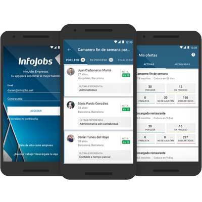 Aplicación Infojobs