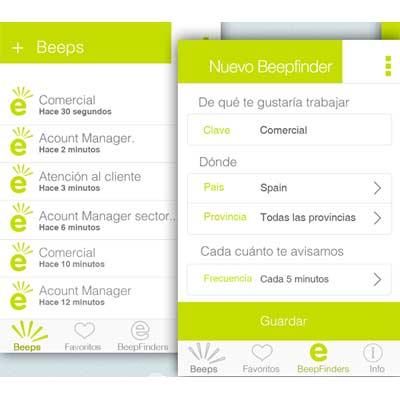 Aplicación Jobeeper
