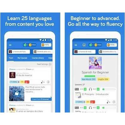 Aplicación LingQ