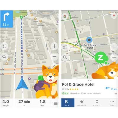 Aplicación Maps.me