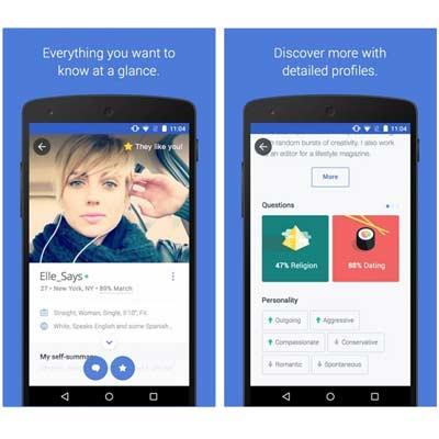 Aplicación para ligar OkCupid