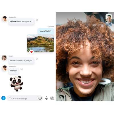 Aplicación Skype
