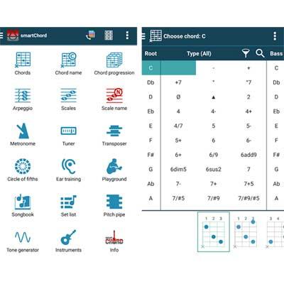 Aplicación SmartChord