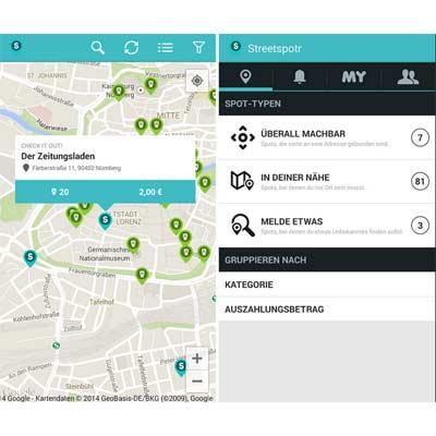 Descargar aplicación Streetspotr