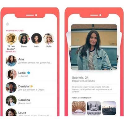 Aplicación para ligar Tinder