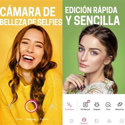 Aplicación BeautyPlus