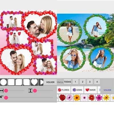 Aplicación Collage de fotos + marcos