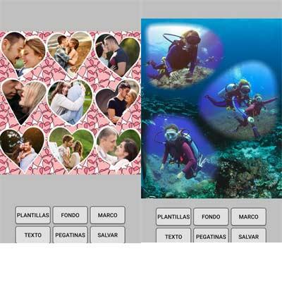 Aplicación Collage de fotos
