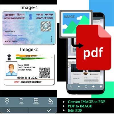 Aplicación Document Scanner - PDF Creator