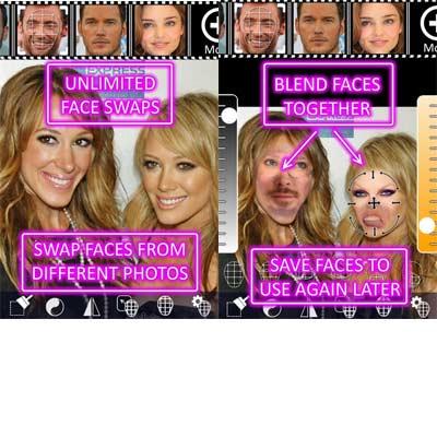Aplicación Face Swap Booth