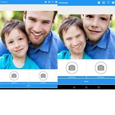 Aplicación Face Swap