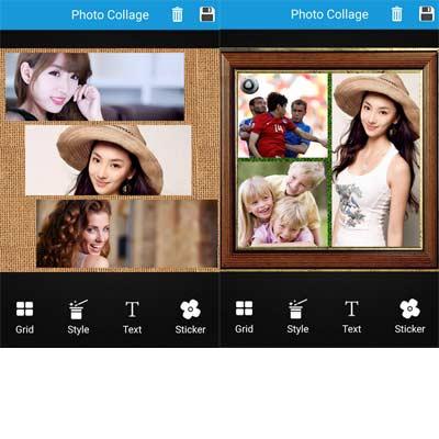 Aplicación Foto Collage Editor