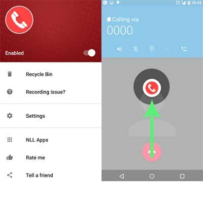 Aplicación Grabación de la llamada - ACR