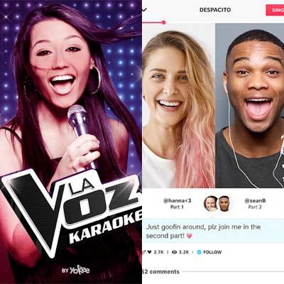 Aplicación La Voz - Canta Karaoke