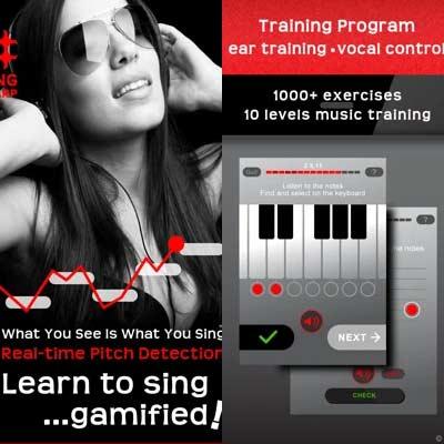 Aplicación Learn to Sing