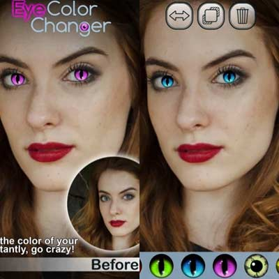 Aplicación Magic Eye Color