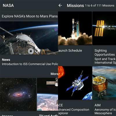 Aplicación NASA