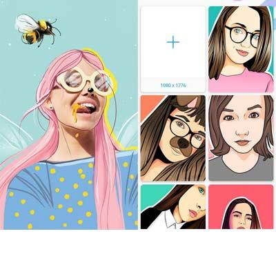 Aplicación PicsArt Color Paint