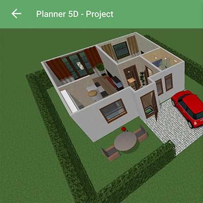 Aplicación Planner 5D - Diseño Interior