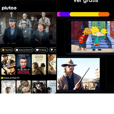 Aplicación PlutoTV