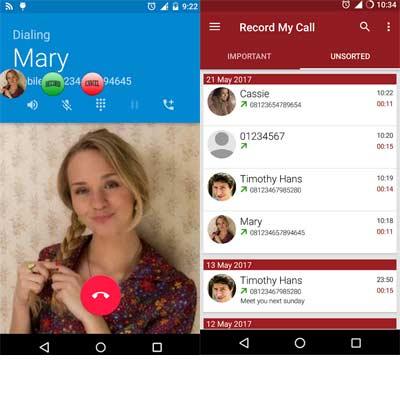 Aplicación RMC - Android Call Recorder