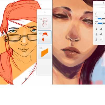 Aplicación Sketchbook Express