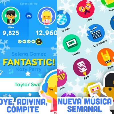 Aplicación SongPop 2