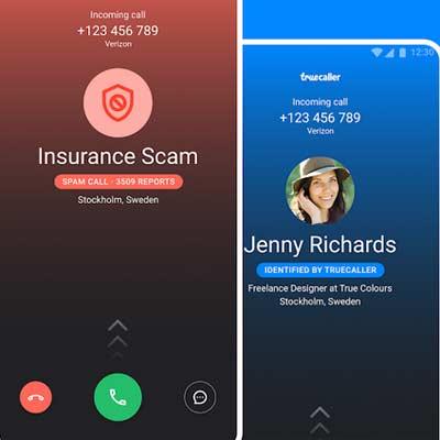 Aplicación Truecaller - ID y registro de llamadas, spam