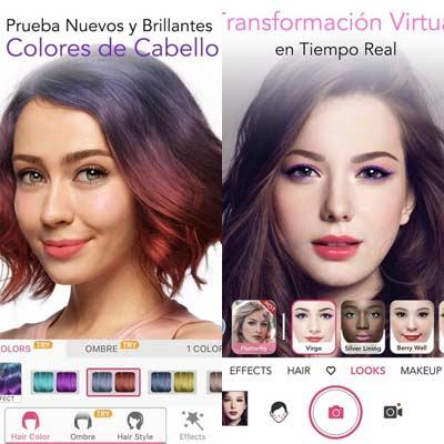 Aplicación YouCam Makeup