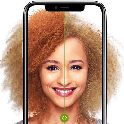 Aplicaciones para cambiar color de pelo