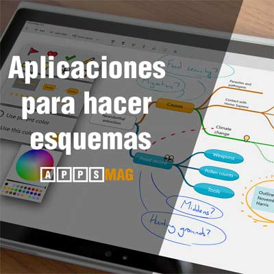 Aplicaciones para hacer esquemas