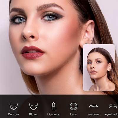 B612 Filtro de maquillaje