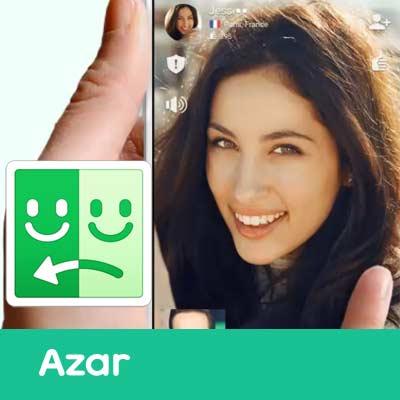 Cómo entrar en Azar App Vídeo Chat
