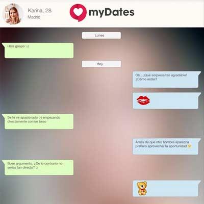 ¿Cómo entrar en MyDates?