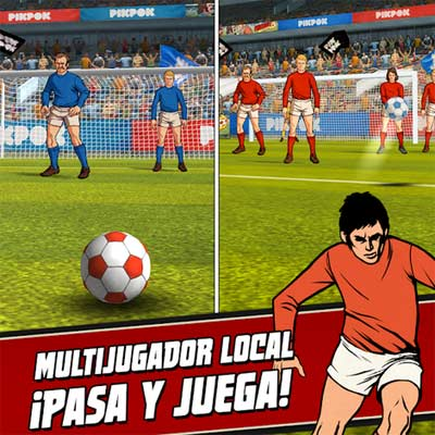 Juego Flick Kick Football Kickoff
