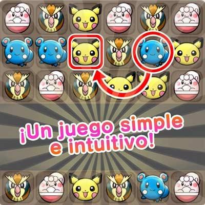 Juego Pokémon Shuffle Mobile